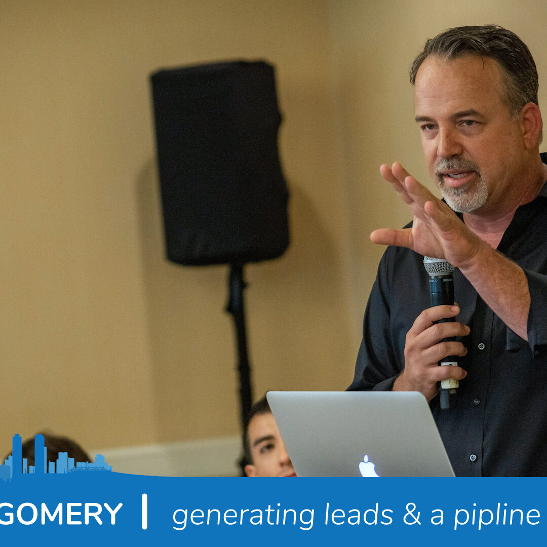 Chris Montgomery | Generating leads and building an active pipeline