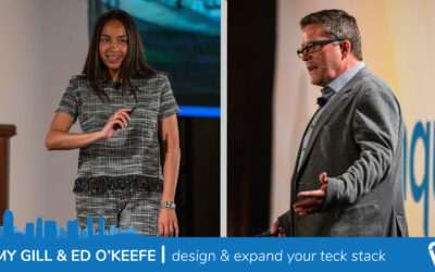 Ed O'Keefe & Amy Gill | Design & Expand Your Tech Stack